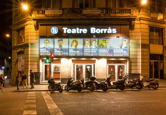 Tour Virtual de Google Teatre Borras